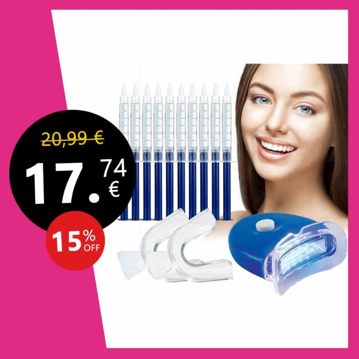 Kit Blanchiment Dents,Gel Blanchiment Dentaire -Réutilisable PratiqueKit de Blanchiment,Blanchiment dentaire -Dents Soins Dentaire Blanchir à DomicileQualité Professionnel