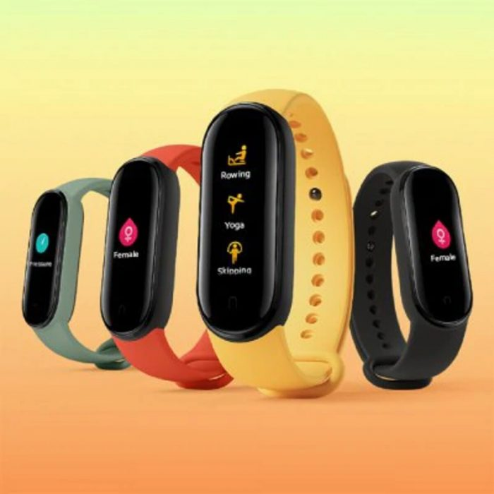 Xiaomi Mi Band 5 Smart Wristband 1.1 inch Color Screen Wristband with Magnetic Charging 11 Sports Modes Remote Camera Bluetooth 5.0 Global Version – Black Global Version