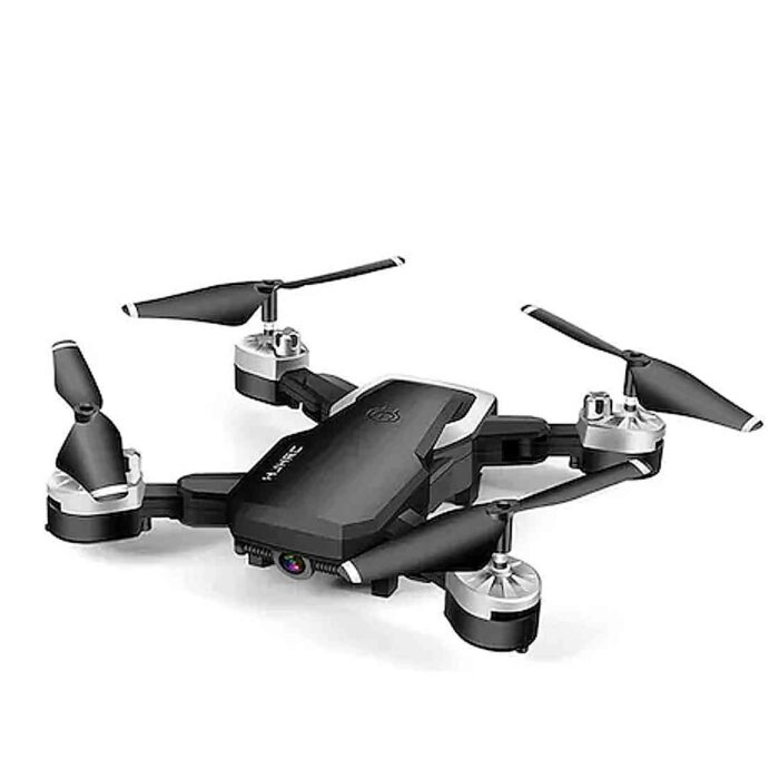 Foldable HD Aerial Photography Four-axis RC Drone Quadcopter FPV Remote Control Aircraft – Black