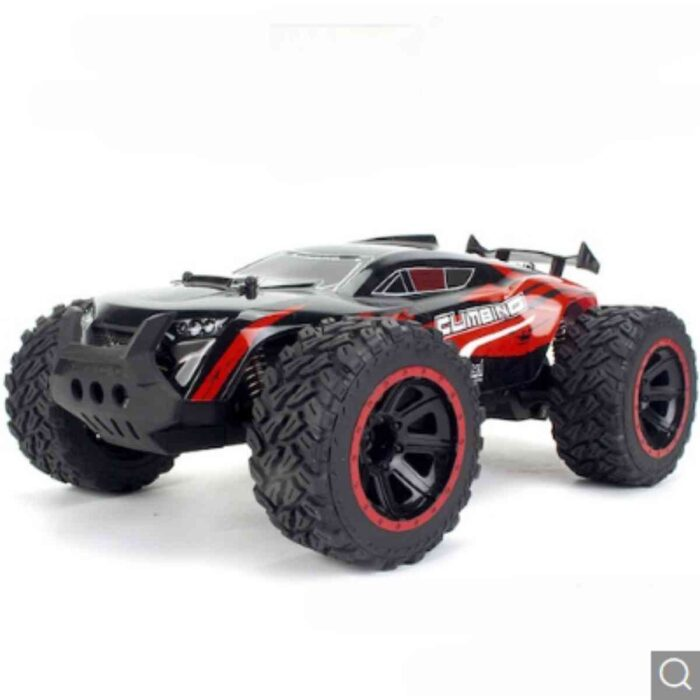 1:14 RC Remote Control Car Professional Big Foot Climbing Off-road Racing Toy Model Car – Red