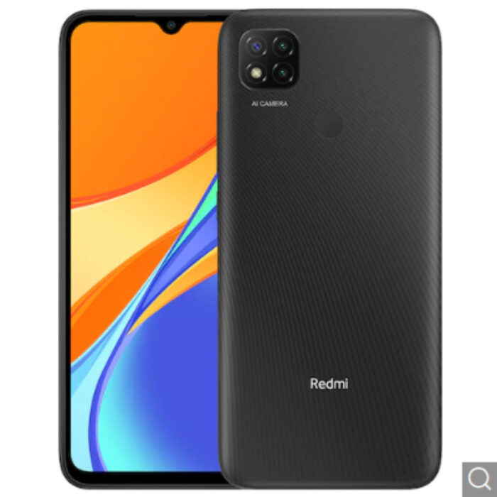 Xiaomi Redmi 9C 4G Smartphone 6.53 inch Media Tek Helio G35 2.3GHz Octa-core 13MP AI Triple Camera 5000mAh Battery EU Version – Gray 2GB+32GB