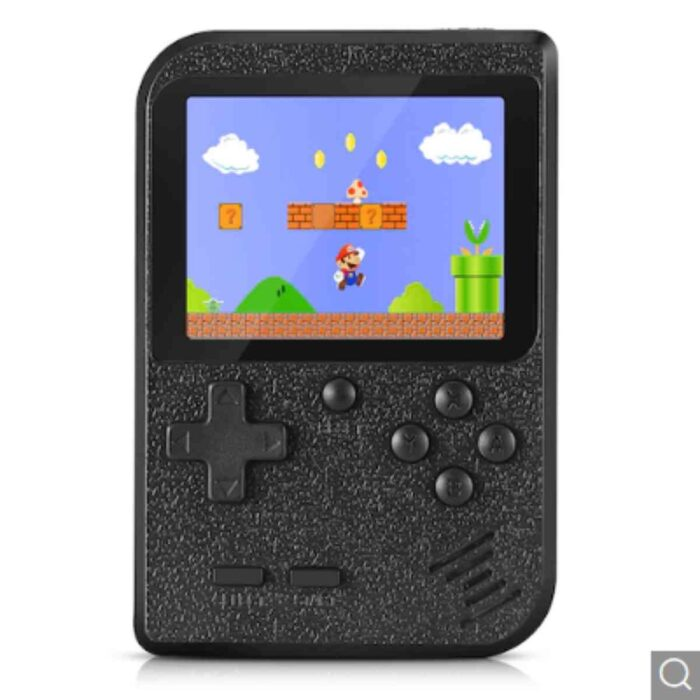 Gocomma Built-in 400 Classic Games Handheld Game Console – Black