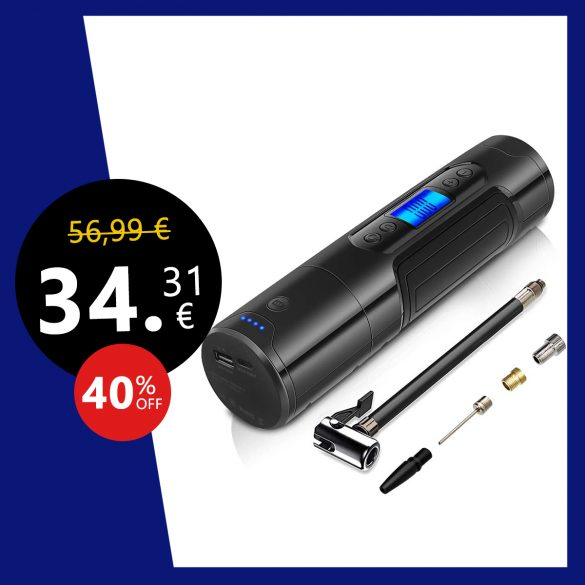 Mini Compresseur Pneumatique Rechargeable